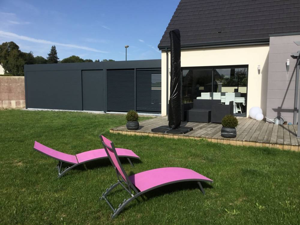 Carport alu sur mesure Arras